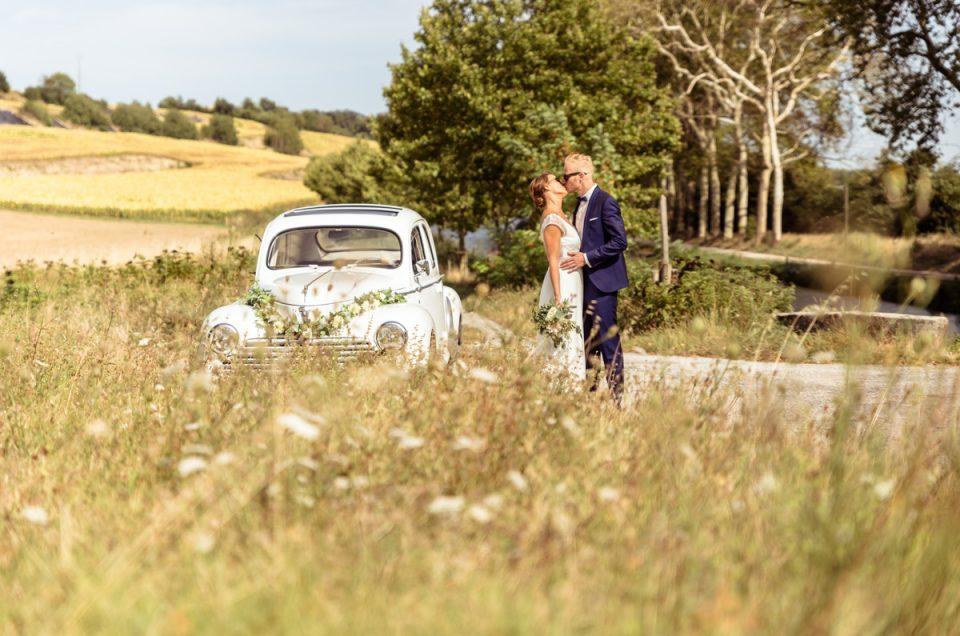 Un magnifique mariage à carcassonne